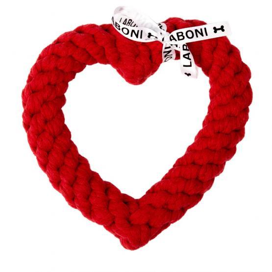 Spielzeug LABONI - Hertha Heart - Kult-Spielzeug für Hunde