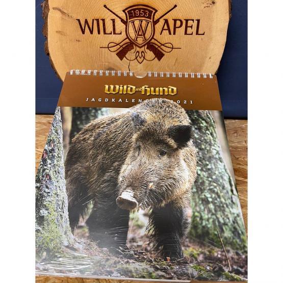 WILD UND HUND Edition: Jagdkalender Wandvariante 2021