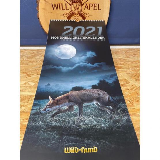 WILD UND HUND Edition: Mondhelligkeitskalender 2021
